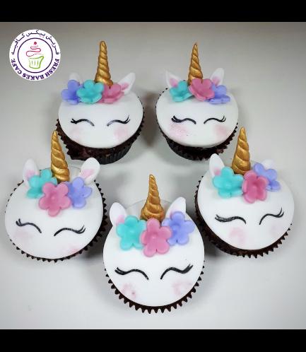 Cupcakes - Fondant - Flowers 01