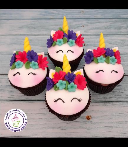 Cupcakes - Fondant - Flowers 02