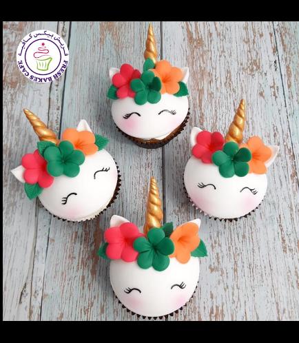 Cupcakes - Fondant - Flowers 06