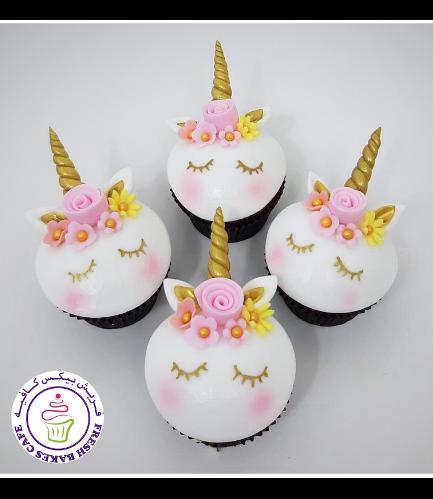 Cupcakes - Fondant - Flowers 07