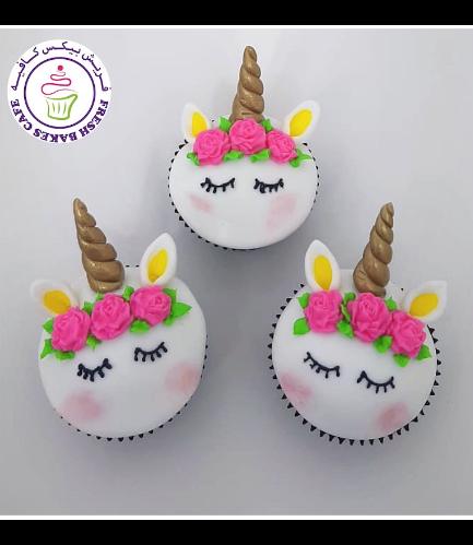 Cupcakes - Fondant - Flowers 08