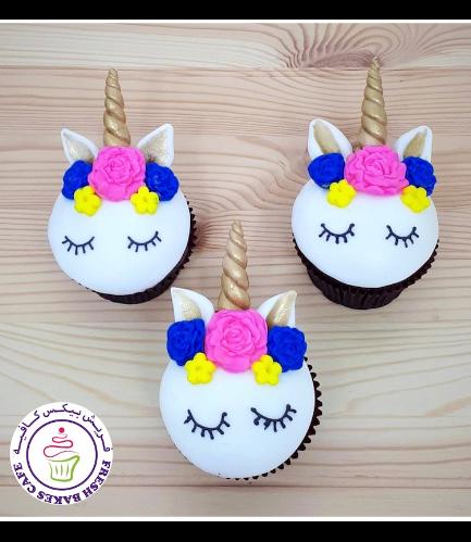 Cupcakes - Fondant - Flowers 09