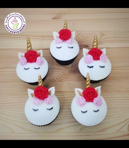 Cupcakes - Fondant - Flowers 10