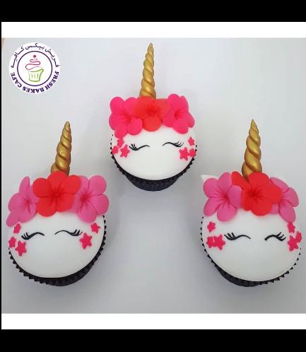 Cupcakes - Fondant - Flowers 11