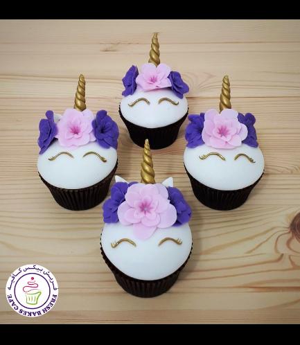 Cupcakes - Fondant - Flowers 13