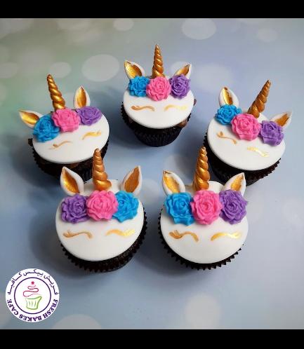 Cupcakes - Fondant - Flowers 14