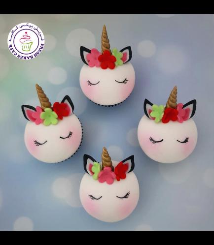 Cupcakes - Fondant - Flowers 16