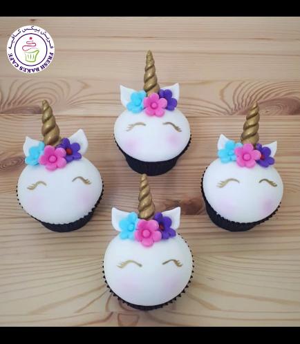 Cupcakes - Fondant - Flowers 17