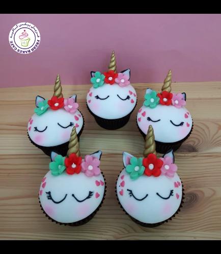 Cupcakes - Fondant - Flowers 19