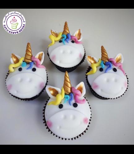 Cupcakes - Fondant - Hair 03b