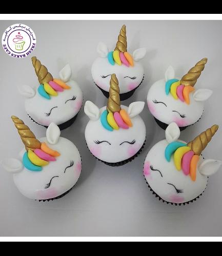 Cupcakes - Fondant - Hair 07
