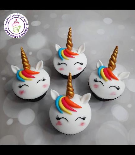 Cupcakes - Fondant - Hair 08