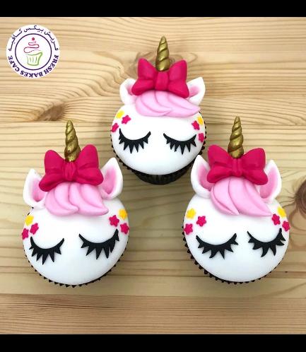 Cupcakes - Fondant - Hair & Bow Tie 01