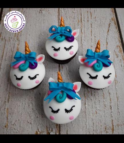 Cupcakes - Fondant - Hair & Bow Tie 02