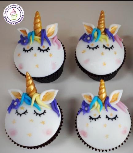 Cupcakes - Fondant - Hair & Flowers 04