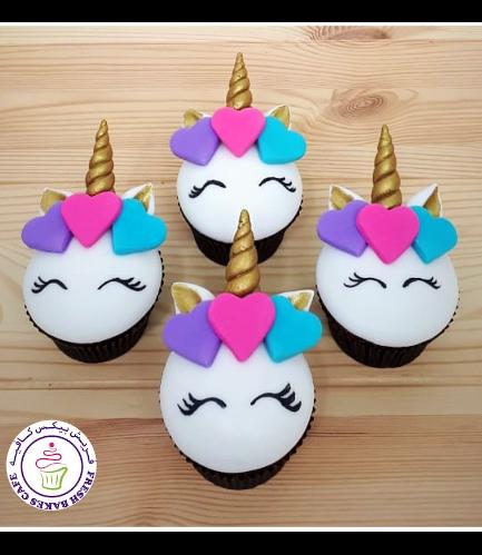 Cupcakes - Fondant - Hearts