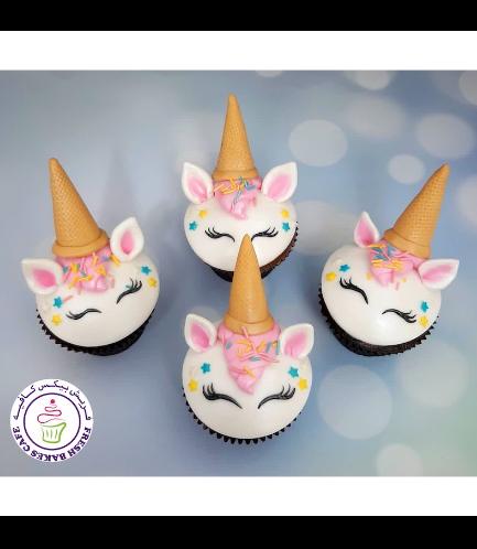 Cupcakes - Fondant - Ice Cream