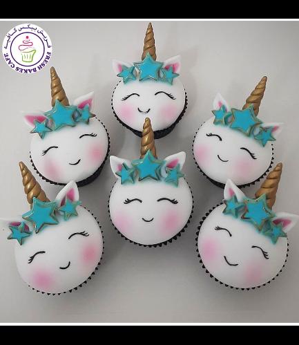 Cupcakes - Fondant - Stars 01