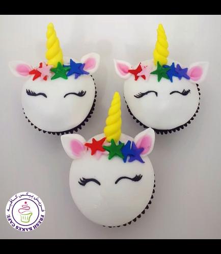 Cupcakes - Fondant - Stars 02