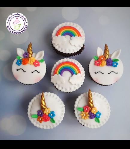Cupcakes - Unicorn & Rainbow 04