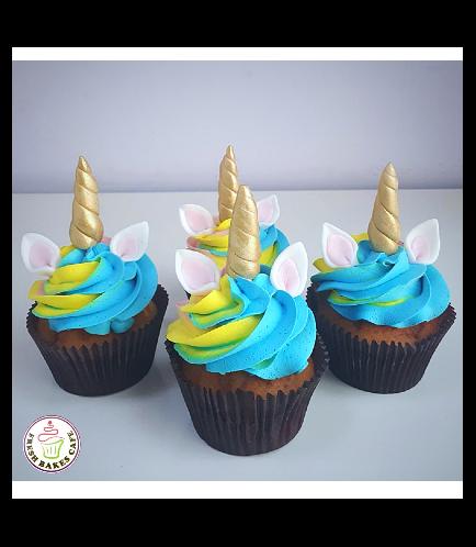 Unicorn Themed Cupcakes 13
