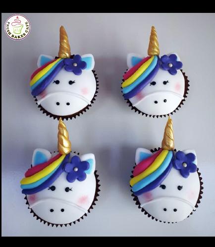 Cupcakes - Fondant - Hair & Flowers 03
