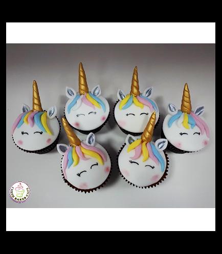 Cupcakes - Fondant - Hair 02