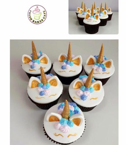 Cupcakes - Fondant - Cream Piping 01