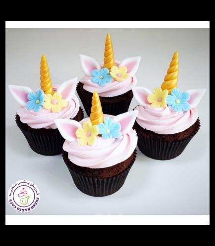 Cupcakes - Cream - Flowers 04