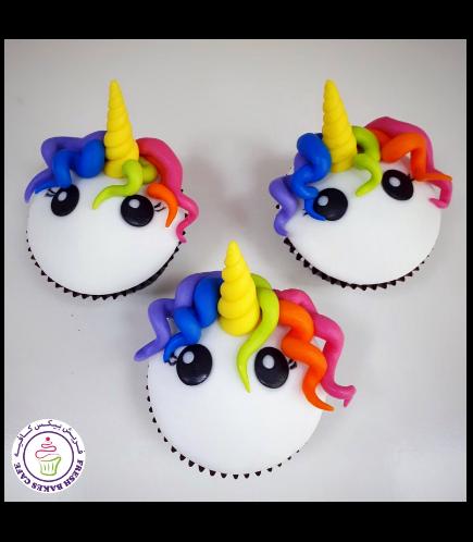 Cupcakes - Fondant - Hair 05
