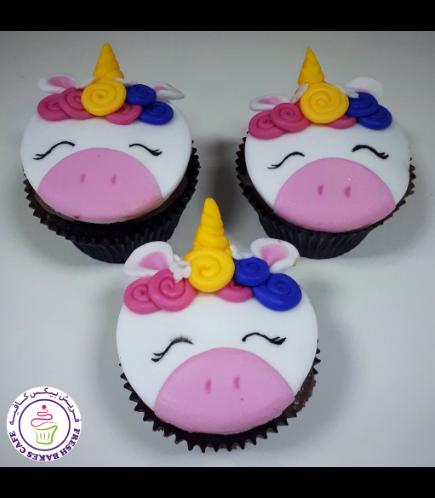 Cupcakes - Fondant - Hair & Flowers 01