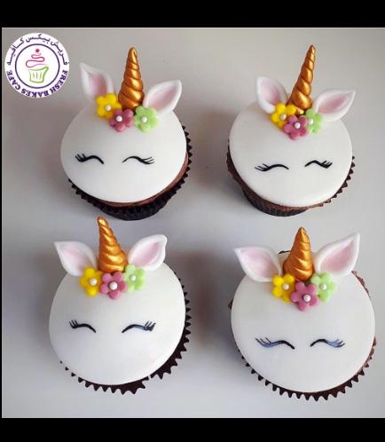 Cupcakes - Fondant - Flowers 05