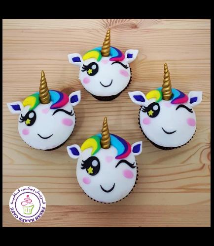 Cupcakes - Fondant - Hair 06