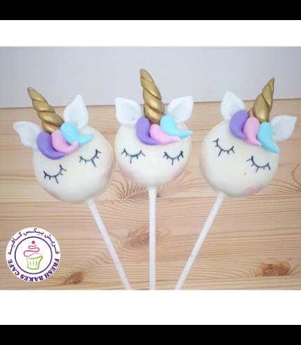 Unicorn Themed Donut Pops - Hair 03