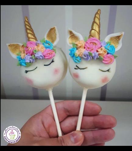 Unicorn Themed Donut Pops 03