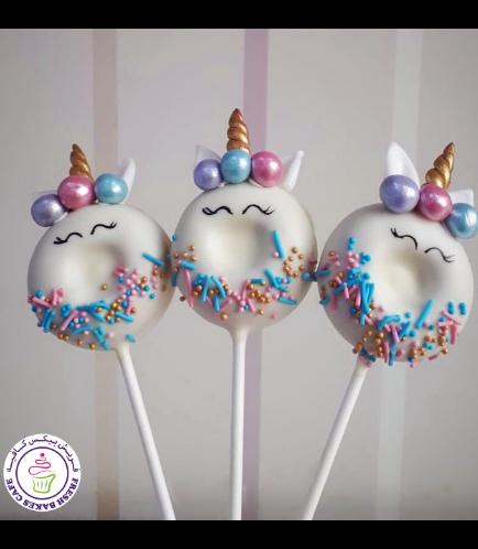 Unicorn Themed Donut Pops - Sprinkles 01