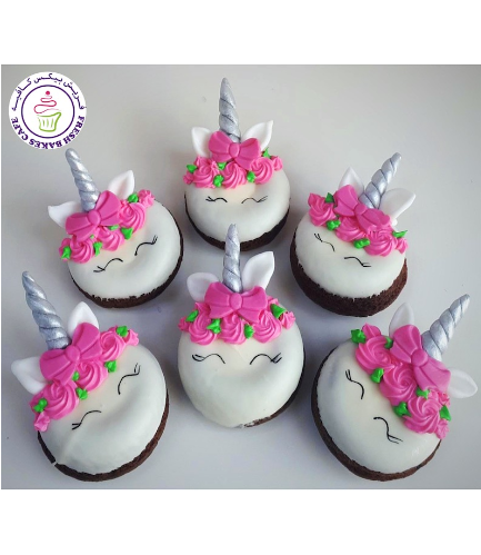 Unicorn Themed Donuts - Royal Icing & Bow Tie