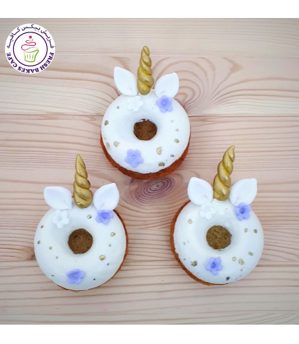 Unicorn Themed Donuts - Flowers 01b