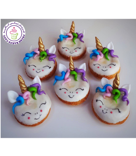 Unicorn Themed Donuts - Hair 06