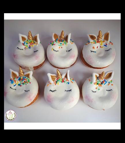 Unicorn Themed Donuts 8
