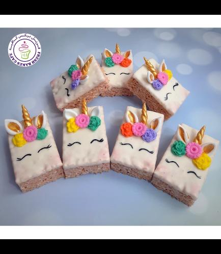 Unicorn Themed Krispie Treats 02