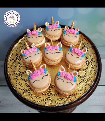 Unicorn Themed Macarons 02