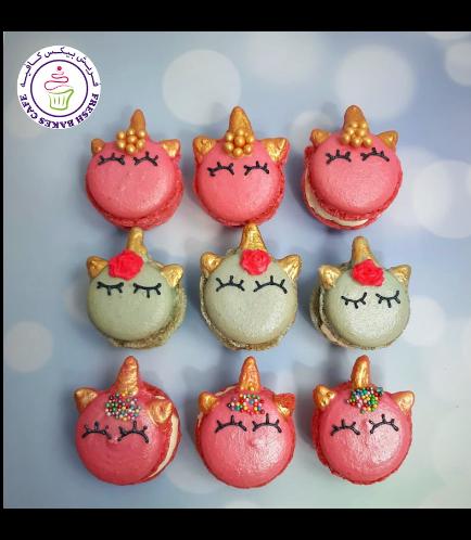 Unicorn Themed Macarons 03