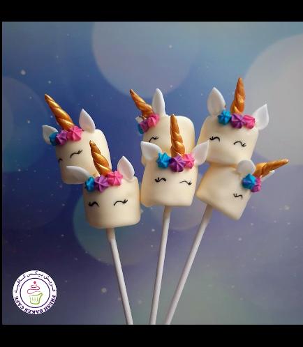 Marshmallow Pops - Flowers 01
