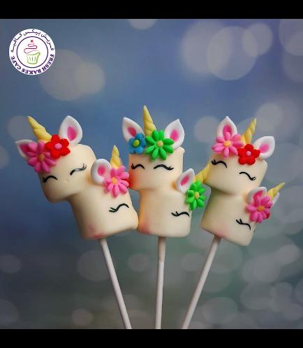 Marshmallow Pops - Flowers 02
