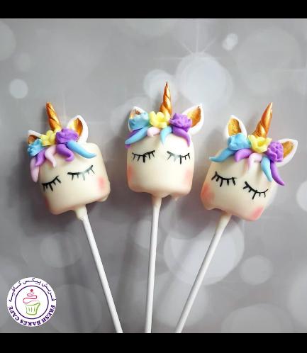 Marshmallow Pops - Hair & Flowers