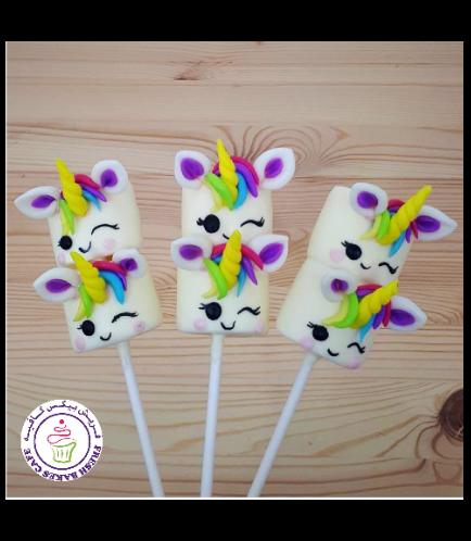 Unicorn Themed Marshmallow Pops 04