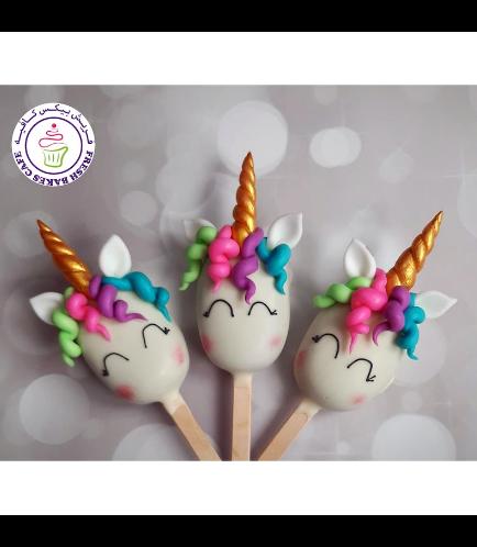 Unicorn Themed Popsicakes - Hair 03