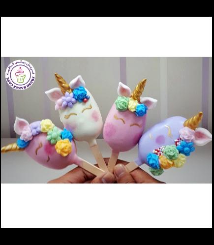 Unicorn Themed Popsicakes 02
