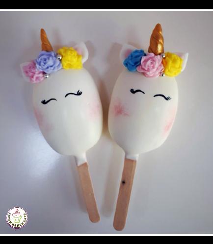 Unicorn Themed Popsicakes 09